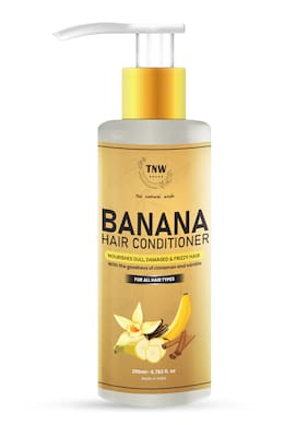 TNW-THE NATURAL WASH Banana Conditioner Nourishes and Protects Your Hair -200ml