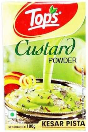Tops Kesar Pista Custard 100 gm