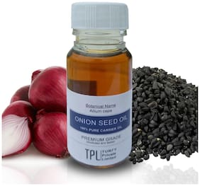 TPL Onion Seed Oil 100% Pure and Natual Carrier Oil 30 ml