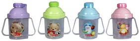 Trendy Dukaan Baby Straw Sipper Training Cup Bpa Free Easy Grip (Colour May Vary) Pack Of 1