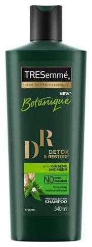 Tresemme Shampoo - Detox & Restore 340 ml