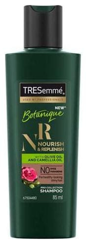 TRESemme Shampoo - Nourish & Replenish - No Parabens  No Dyes 85 ml