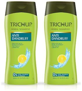Trichup Anti Dandruff Shampoo (200 ml X 2) (Pack Of 2)