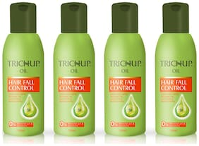 Trichup Hair Fall Control Herbal Hair Oil (100 ml) (Pack of 4)