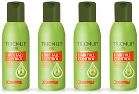 Trichup Hair Fall Control Herbal Hair Oil 200ml (Pack of 4)