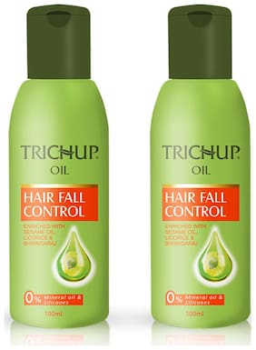 Trichup Hair Fall Control Herbal Hair Oil (200 ml X 2) (Pack Of 2)