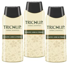 Trichup Healthy Long & Strong Herbal Hair Shampoo ( 200 Ml X 3) (Pack Of 3)