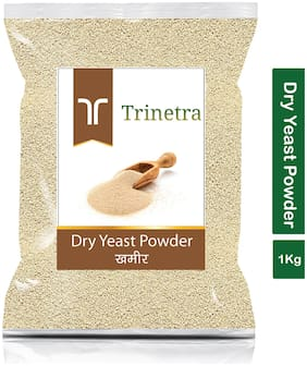 Trinetra Best Quality Khameer (Dry Yeast) 1Kg (Pack Of 1)