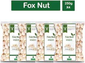 Trinetra Best Quality Phool Makhana (Puffed Foxnut) 250g (Pack Of 4)