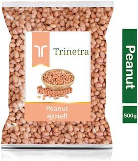 Trinetra Best Quality Moongfali (Peanut)-500g (Pack Of 1)