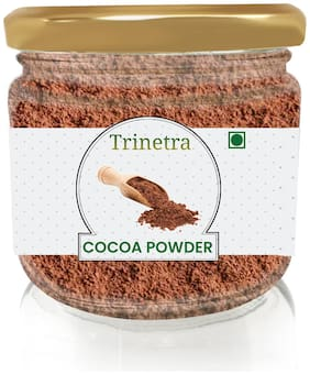 Trinetra Best Quality Cocoa Powder (Glass Jar Pack) 100g (Pack Of 1)