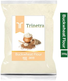 Trinetra Best Quality Kuttu Atta (Buckwheat Flour)-250g (Pack Of 1)