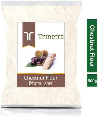 Trinetra Best Quality Singhara Atta (Chestnut Flour)-500g (Pack Of 1)