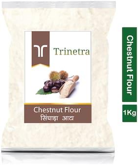 Trinetra Best Quality Singhara Atta (Chestnut Flour)-1kg (Pack Of 1)