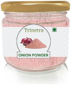 Trinetra Best Quality Onion Powder (Glass Jar Pack)-100g (Pack Of 1)