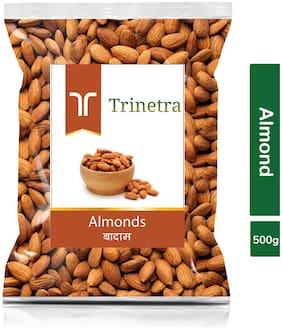 Trinetra Best Quality Badam (Almond) 500g (Pack Of 1)