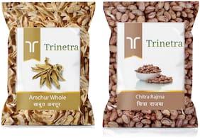 Trinetra Best Quality Amchur Sabut 100g & Chitra Rajma 500g