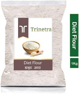 Trinetra Best Quality Diet Atta (Diet Flour)-1kg (Pack Of 1)