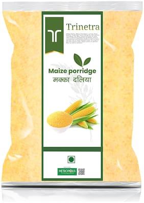 Trinetra Best Quality Makka Daliya (Maize Porridge) 2 kg (Pack Of 1)
