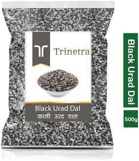 Trinetra Best Quality Urad Dal Split (Black Gram Split)-500g (Pack Of 1)