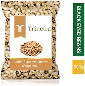 Trinetra Best Quality Lobiya / Black Eyed Peas 500g