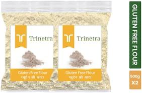 Trinetra Best Quality Gluten Free Flour / Gluten Free Atta 500 g ( Pack of 2 )