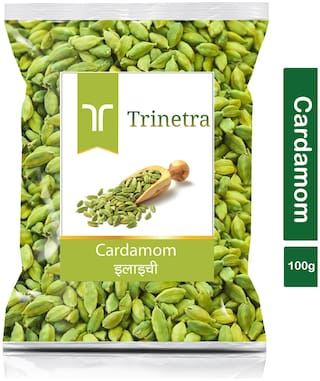 Trinetra Best Quality Choti Elaichi (Green Cardamom)-100g (Pack Of 1)