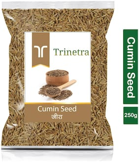 Trinetra Best Quality Jeera (Cumin Seeds)-250g (Pack Of 1)