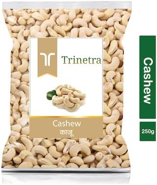 Trinetra Best Quality Kaju (Cashew) 250g (Pack Of 1)