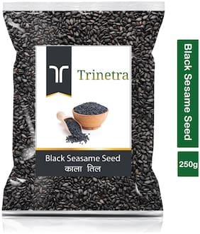 Trinetra Best Quality Kala Til (Black Sesame Seeds)-250g (Pack Of 1)