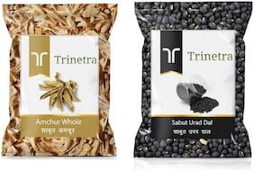 Trinetra Best Quality Amchur Sabut 100g & Sabut Urad Dal 500g