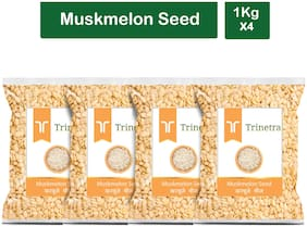 Trinetra Best Quality Muskmelon Seeds 1kg (Pack Of 4)
