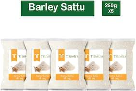 Trinetra Best Quality Jau Sattu (Barley Sattu) 250g (Pack Of 5)