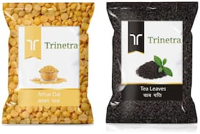 Trinetra Best Quality Tea Leaves 400g And Arhar Dal 1kg