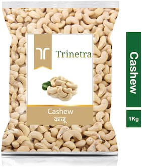 Trinetra Best Quality Kaju (Cashew) 1kg (Pack Of 1)
