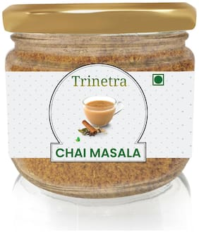 Trinetra Best Quality Chai Masala (Glass Jar Pack)-100g (Pack Of 1)