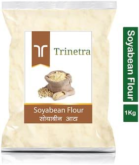 Trinetra Best Quality Soyabean Atta (Soyabean Flour)-1kg (Pack Of 1)