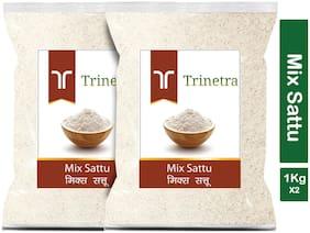 Trinetra Best Quality Mix Sattu 1kg (Pack Of 2)