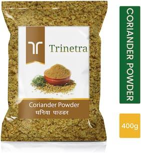 Trinetra Best Quality Coriander Powder/Dhaniya Powder 400g (Pack of 1)