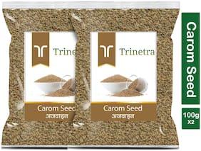 Trinetra Best Quality Ajwain (Carom Seeds)-100g (Pack Of 2)