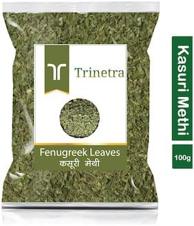 Trinetra Best Quality Kasuri Methi (Fenugreek Leaves)-100g (Pack Of 1)