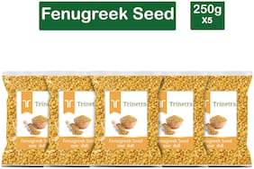 Trinetra Best Quality Dana Methi (Fenugreek Seeds) 250g (Pack Of 5)