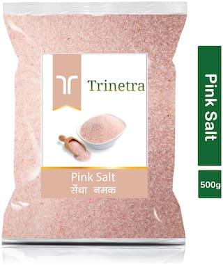 Trinetra Best Quality Pink Salt (Sendha Namak)-500g (Pack Of 1)