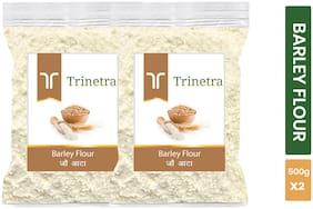 Trinetra Best Quality Barley Flour / Jau Atta 500 g ( Pack of 2 )