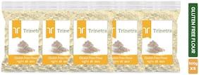 Trinetra Best Quality Gluten Free Flour / Gluten Free Atta 500 g ( Pack of 5 )