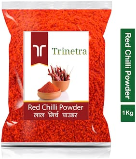 Trinetra Best Quality Lal Mirch Powder (Red Pepper)-1Kg (Pack Of 1)
