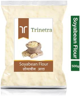Trinetra Best Quality Soyabean Atta (Soyabean Flour)-500g (Pack Of 1)