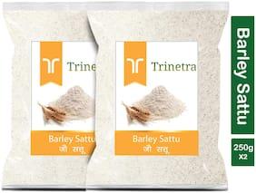 Trinetra Best Quality Jau Sattu (Barley Sattu) 250g (Pack Of 2)