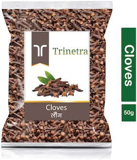 Trinetra Best Quality Laung (Cloves)-50g (Pack Of 1)