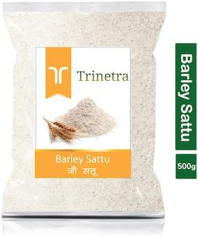 Trinetra Best Quality Jau Sattu (Barley Sattu) 500g (Pack Of 1)